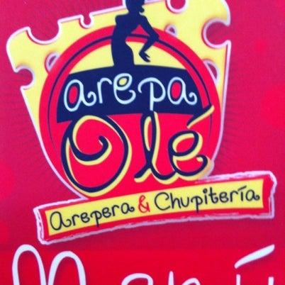 """8/8/2012 tarihinde Alejandra G.ziyaretçi tarafından Arepa Olé """"Chueca""""'de çekilen fotoğraf"""