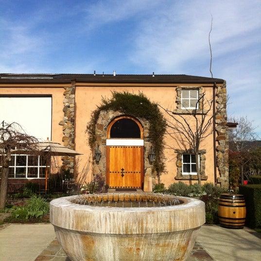 Foto scattata a Peju Province Winery da Masashi S. il 2/25/2012