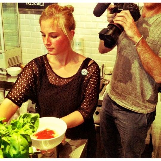 Das Foto wurde bei NOODELI - Pasta Take Away von Jakob M. am 6/23/2012 aufgenommen