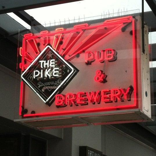 Das Foto wurde bei Pike Brewing Company von Keyser S. am 7/20/2012 aufgenommen
