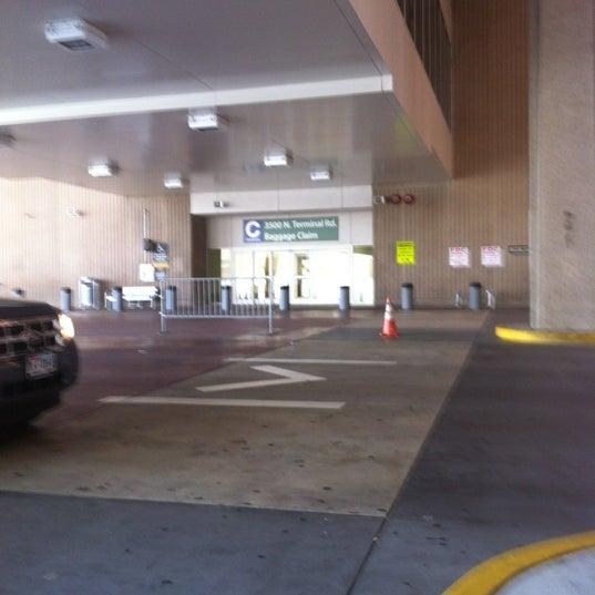 Terminal C Passenger Pickup Airport In George Bush