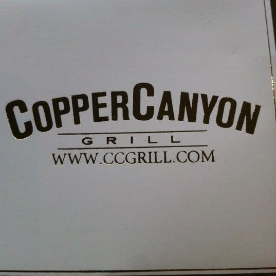 5/13/2012にKathy G.がCopper Canyon Grillで撮った写真