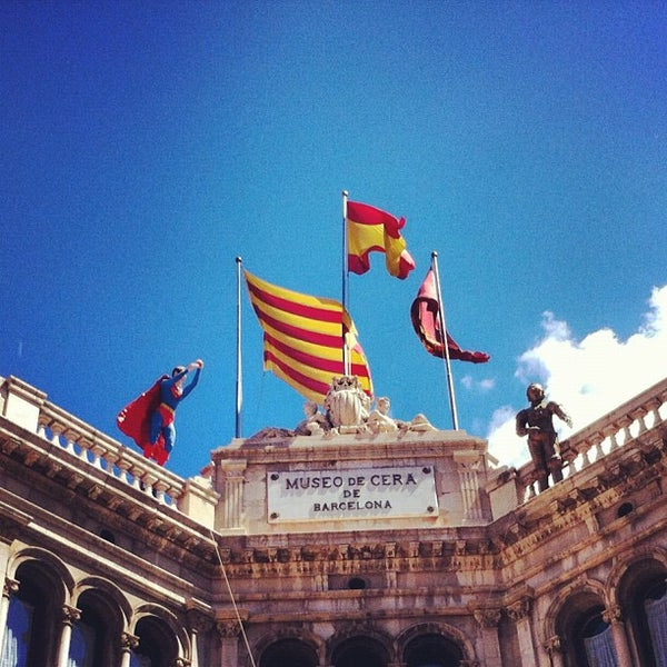 Foto diambil di Museu de Cera de Barcelona oleh Fabio L. pada 4/20/2012
