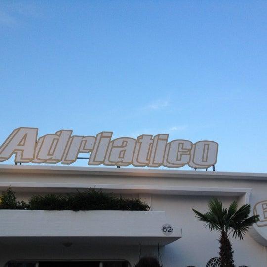 6/9/2012 tarihinde Rossana O.ziyaretçi tarafından Bagno Adriatico 62'de çekilen fotoğraf