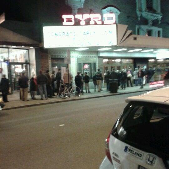 Photo prise au The Byrd Theatre par Wes W. le3/4/2012