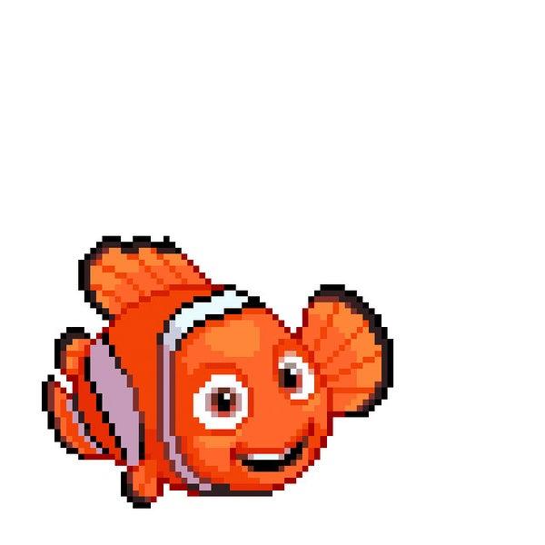 Анимация картинок рыбок