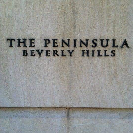 3/22/2012にIan B.がThe Peninsula Beverly Hillsで撮った写真