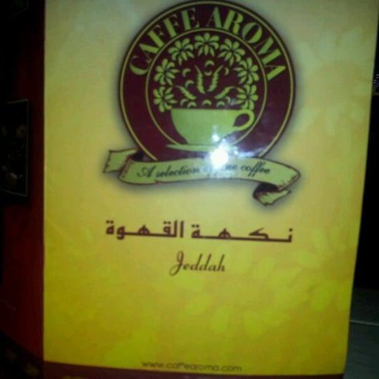 3/3/2012 tarihinde Ehab A.ziyaretçi tarafından Caffe Aroma Ksa'de çekilen fotoğraf