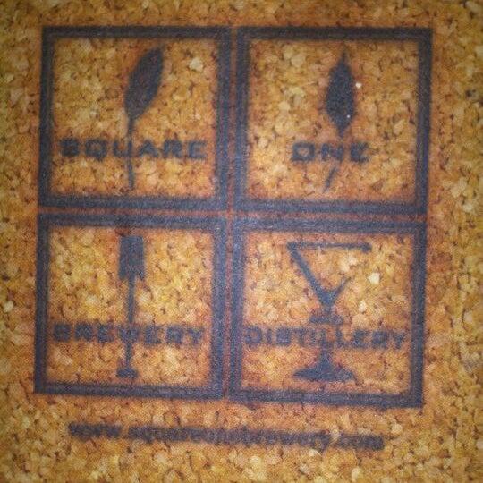 Das Foto wurde bei Square One Brewery & Distillery von Jacob M. am 3/10/2012 aufgenommen