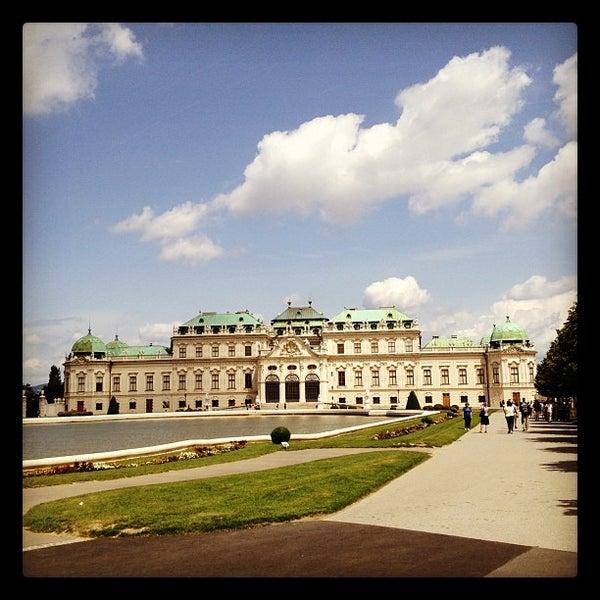 6/28/2012 tarihinde Baher A.ziyaretçi tarafından Oberes Belvedere'de çekilen fotoğraf