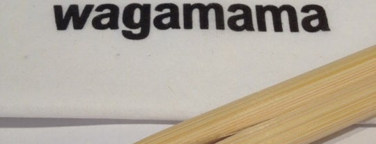wagamama is one of Never been.