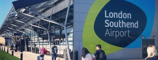 London Southend Airport (SEN) is one of Tempat yang Disukai Mike.