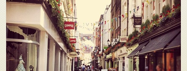 Carnaby Street is one of London, somewhat....