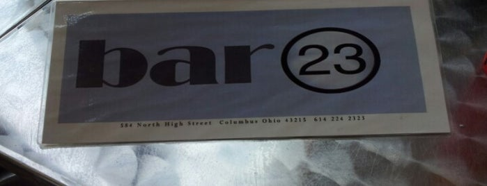 Bar 23 is one of Short North Arts District.