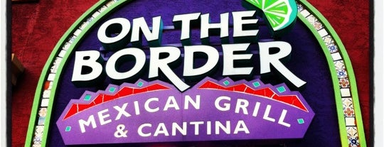 On The Border Mexican Grill & Cantina is one of Christopher'in Beğendiği Mekanlar.