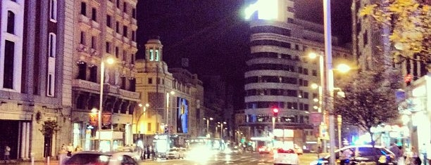 Gran Vía is one of The Best Of Madrid.