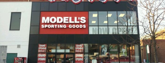 Modell's Sporting Goods is one of newyork.