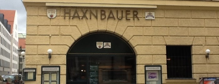Haxnbauer is one of Мюнхен.
