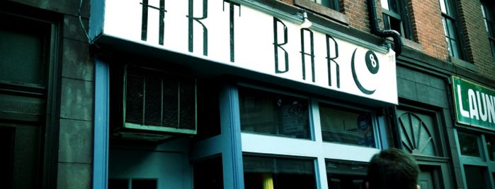 Art Bar is one of NYC: Fave Bars.