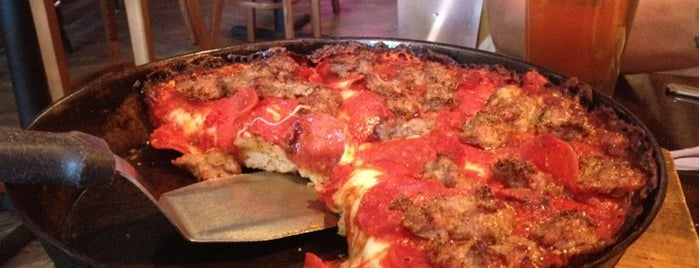 Pequod's Pizzeria is one of Chicago: The Best Pizza City.