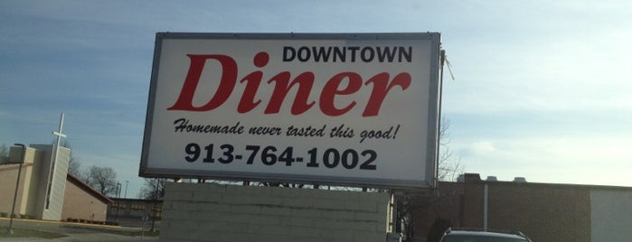 Downtown Diner is one of Lugares favoritos de John.