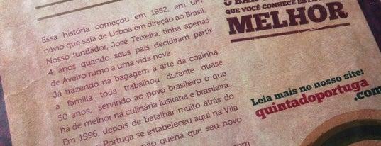 Quinta do Portuga is one of Veja Comer & Beber ABC - 2012/2013 - Bares.