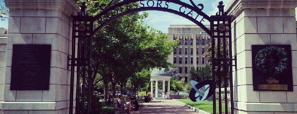 The George Washington University is one of Washington DC.