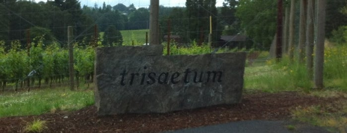 Trisaetum Winery is one of Portland / Oregon Road Trip.
