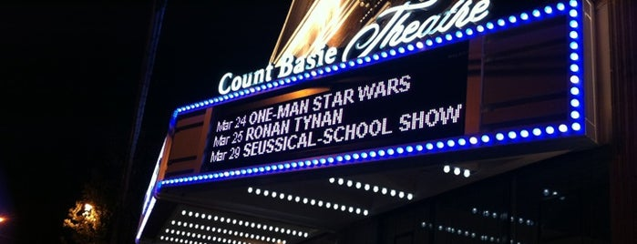The Count Basie Theatre is one of Stuff....