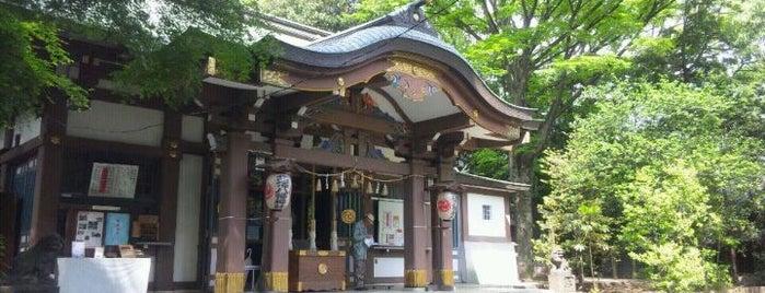 北澤八幡神社 (北澤八幡宮) is one of สถานที่ที่ ジャック ถูกใจ.