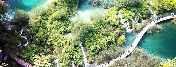 Parque nacional de los Lagos de Plitvice is one of Croacia.