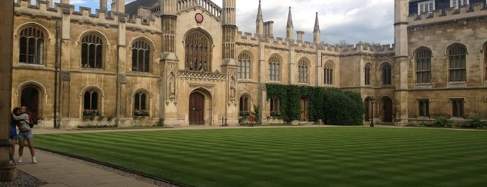 Corpus Christi College is one of UK.