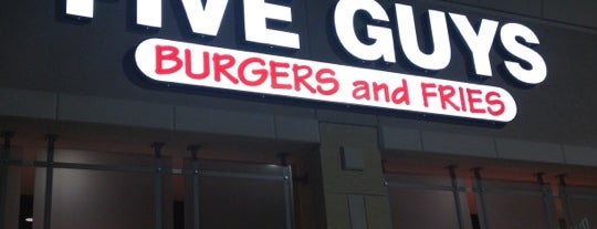 Five Guys is one of Places I Adore.