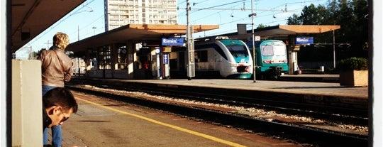 Stazione Rimini is one of Top 100 Check-In Venues Italia.