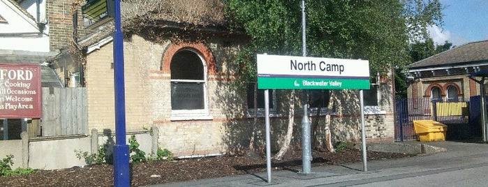 North Camp Railway Station (NCM) is one of UK.
