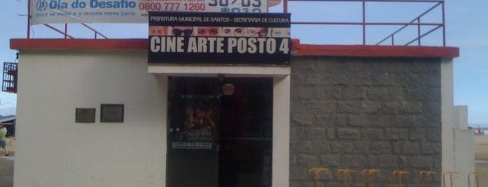 Cine Arte Posto 4 is one of Posti salvati di Paulo.