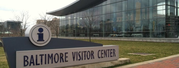Baltimore Visitor Center is one of Baltimore, MD.