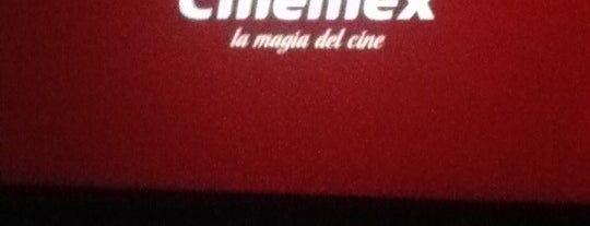 Cinemex is one of favoritos.