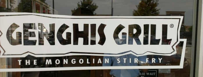 Genghis Grill is one of Shreyas's Liked Places.
