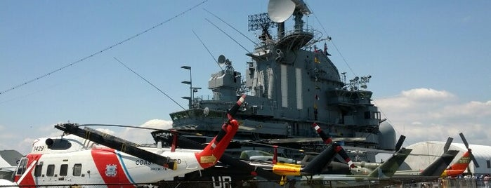 Intrepid Sea, Air & Space Museum is one of Free time.