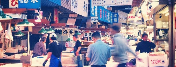 ตลาดปลาสึกิจิ is one of Japan 2017.