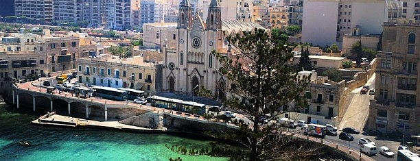 Balluta Bay is one of Malta.