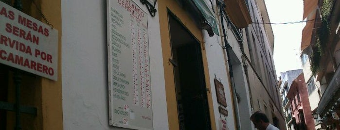 Bodeguita Blanco Cerrillo is one of Sevilla.