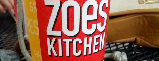 Zoës Kitchen is one of Sharon's Saved Places.