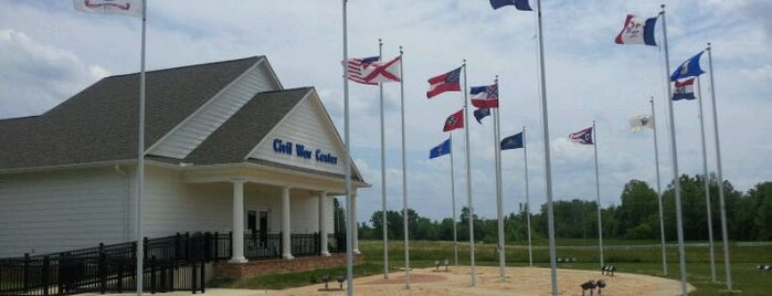 Brice's Cross Roads Visitor And Interpretive Center is one of National Park Service Sites.