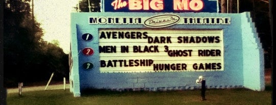 Monetta Drive-in Theater (Big Mo's) is one of TAKE ME TO THE DRIVE-IN, BABY.