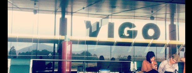 Aeropuerto de Vigo (VGO) is one of Locais curtidos por Mark.