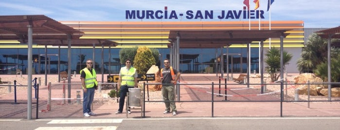 Aeropuerto de Murcia-San Javier is one of Lieux qui ont plu à Steev.