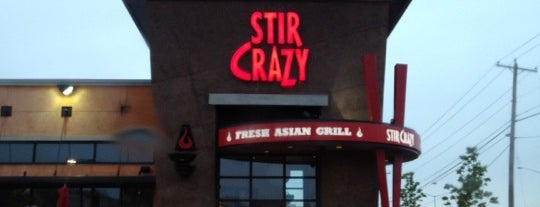 Stir Crazy Fresh Asian Grill is one of Places I Go.