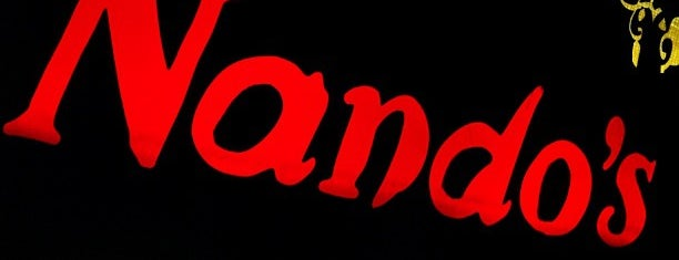 Nando's is one of Lieux qui ont plu à Jon.